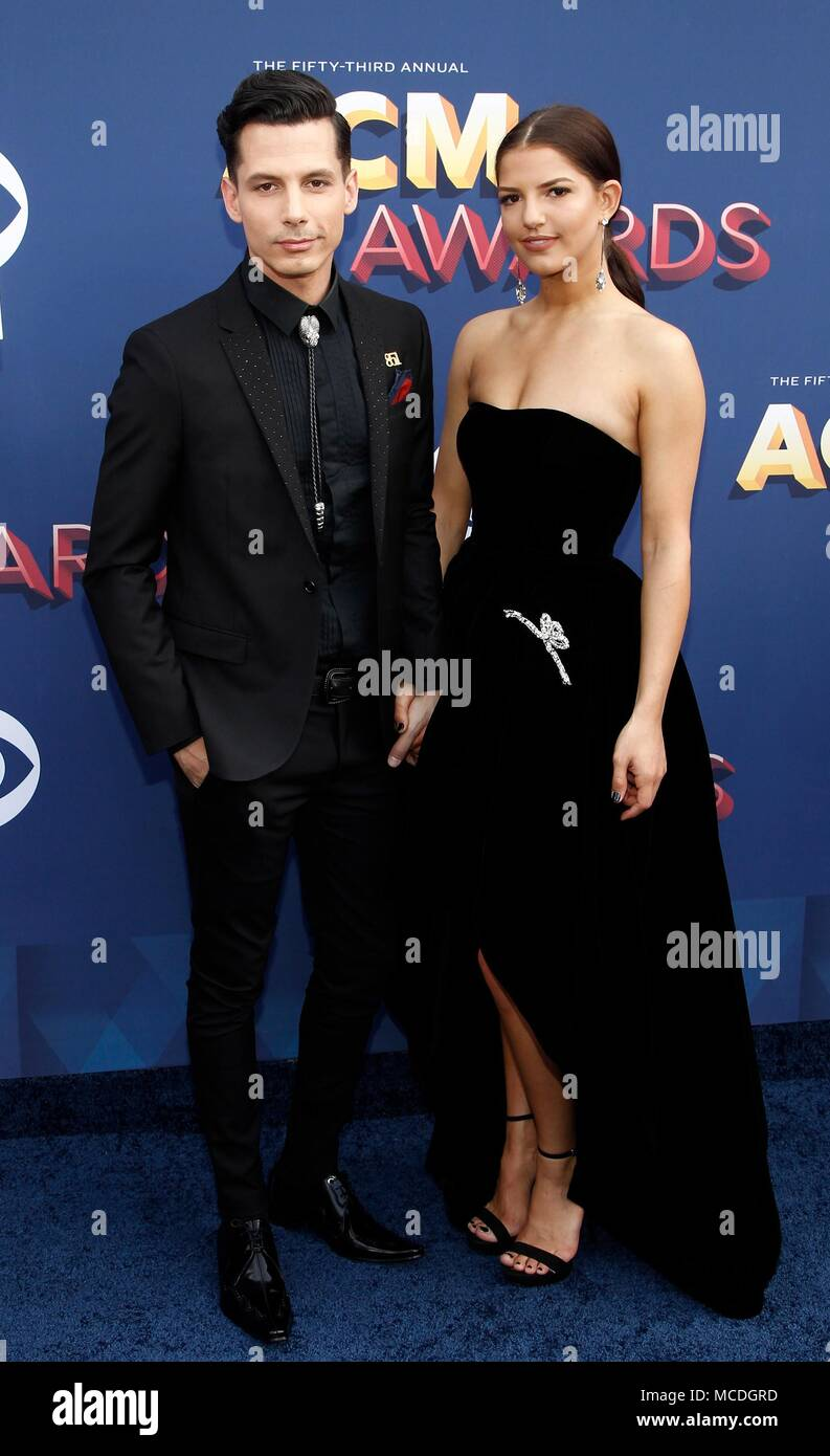 Devin Dawson Leah Sykes At Arrivals For 53rd Academy Of