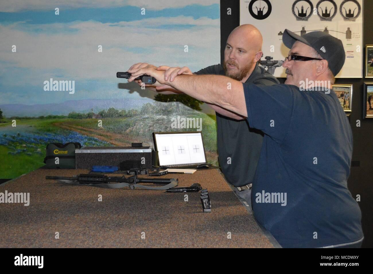 Shooting Stance Stock Photos Amp Shooting Stance Stock