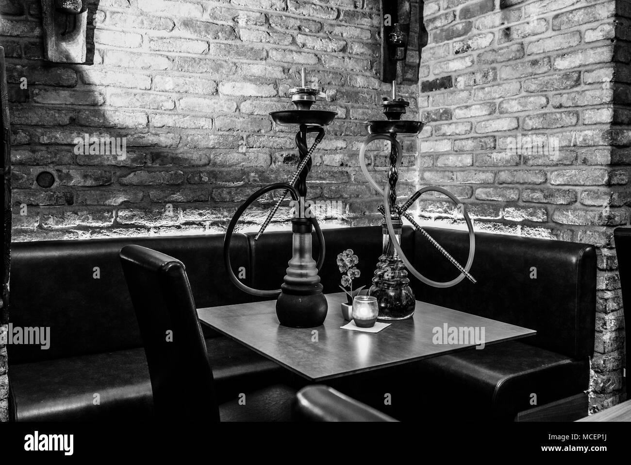 Hookah lounge stock photos hookah lounge stock images - Shisha bar lounge mobel ...