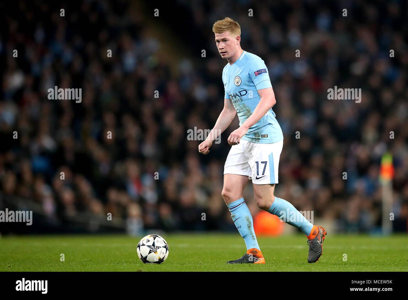 Manchester Citys Kevin De Bruyne Stock Photos & Manchester