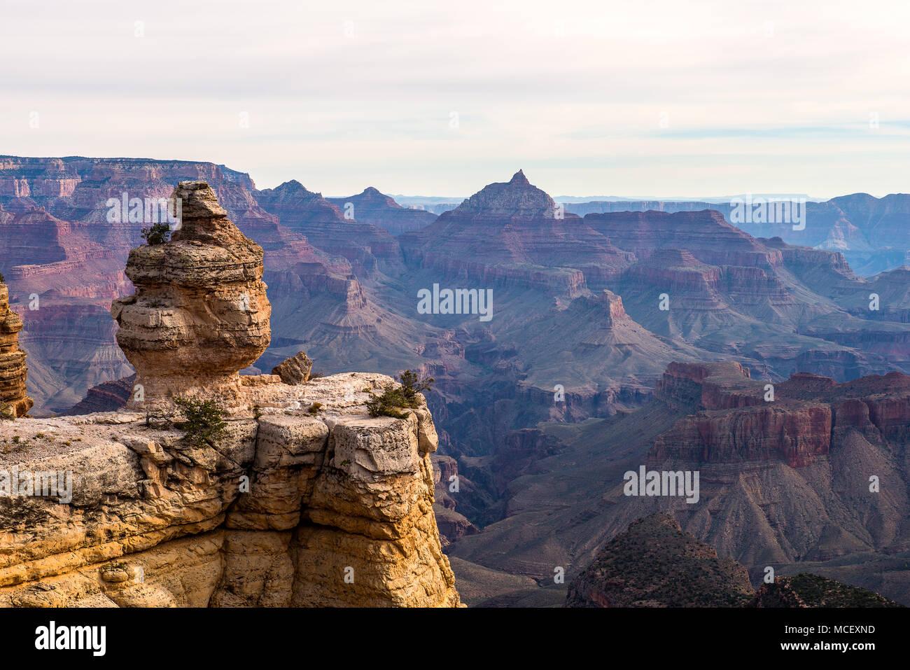 The Grand Canyon National Park, Arizona USA - Stock Image