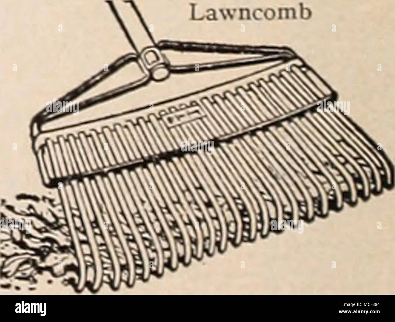 Lawncomb Flat Steel Teeth And A One Piece Steel Frame Combs The