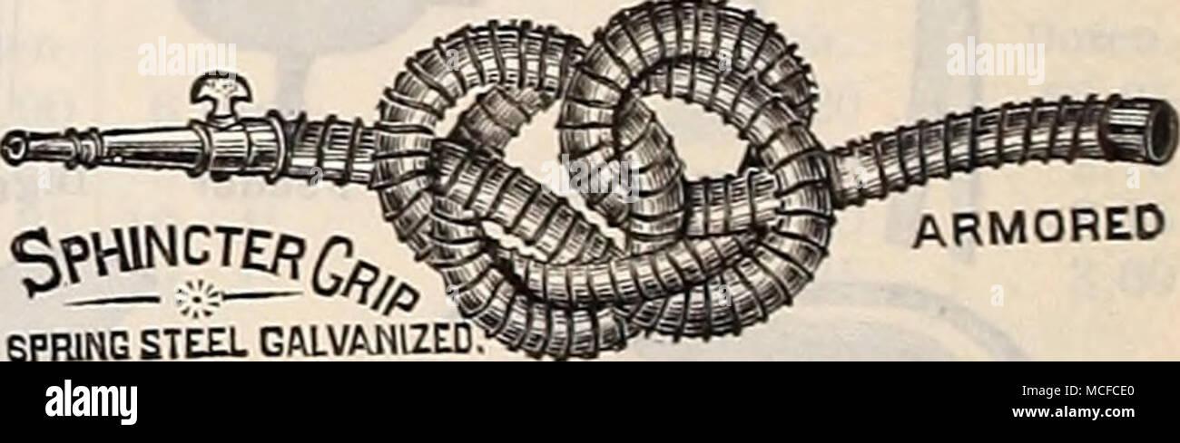 """. SPRING STE£L GALVANIZED"""": ARMORED Mole Traps. Stock Photo"""