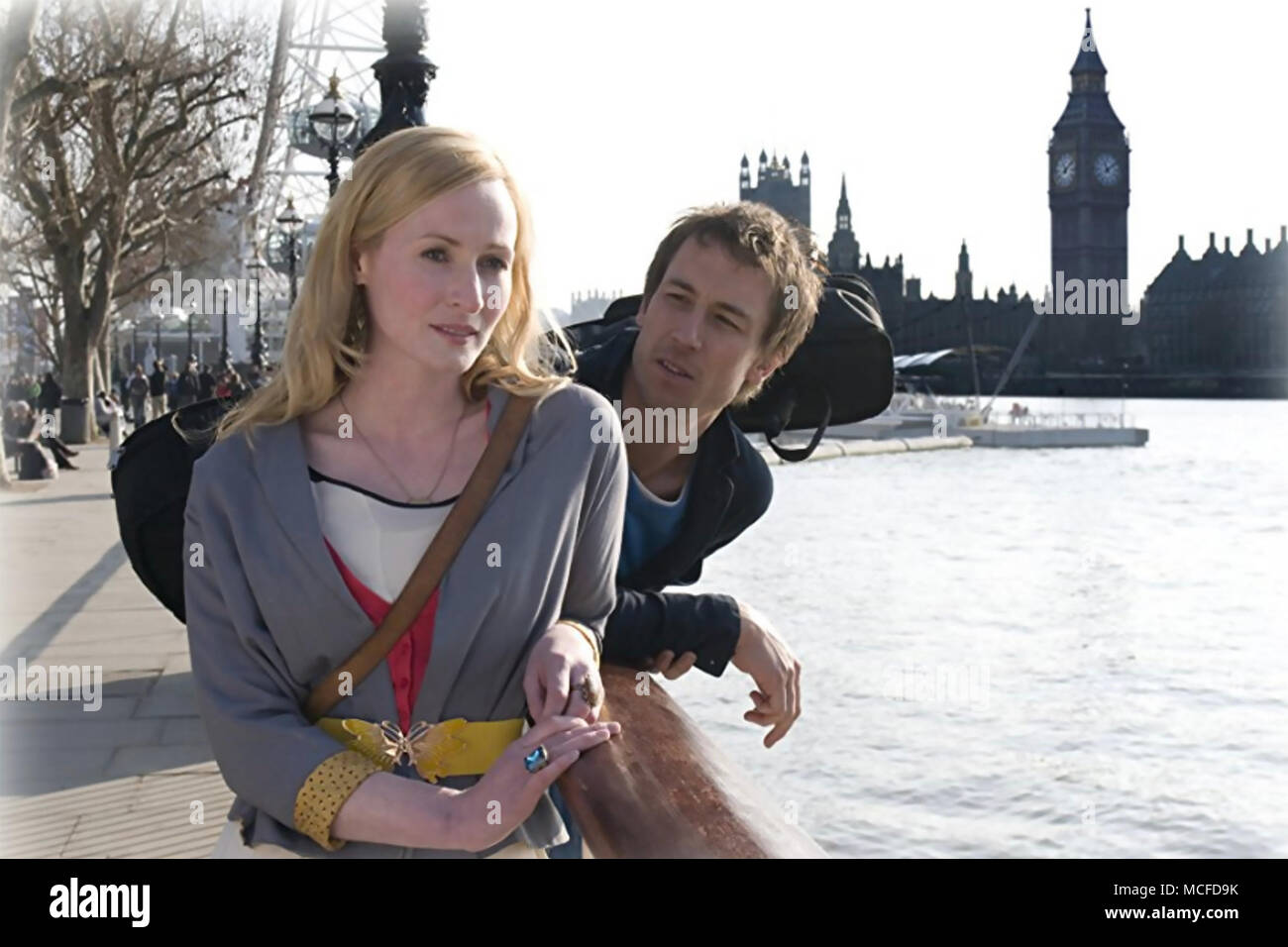FORGET ME NOT 2010 Quicksilver Films production with Genevieve O'Reilly and Tobias Menzies - Stock Image