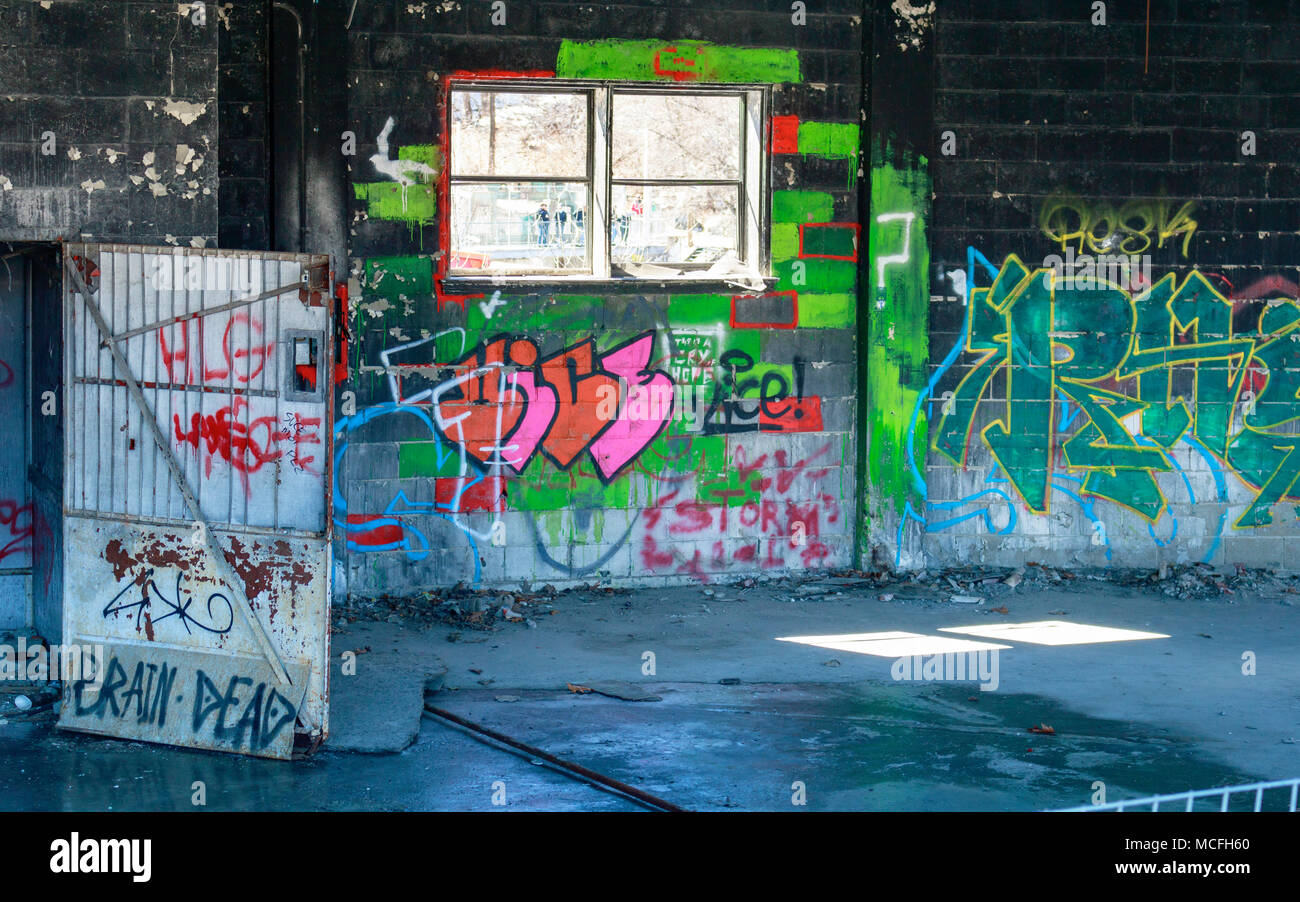 Graffitis & Tags Stock Photo