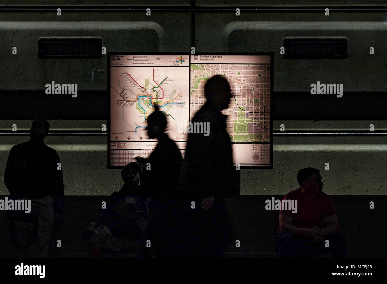 Washington State Subway Map.Washington Dc Subway Map Stock Photos Washington Dc Subway Map