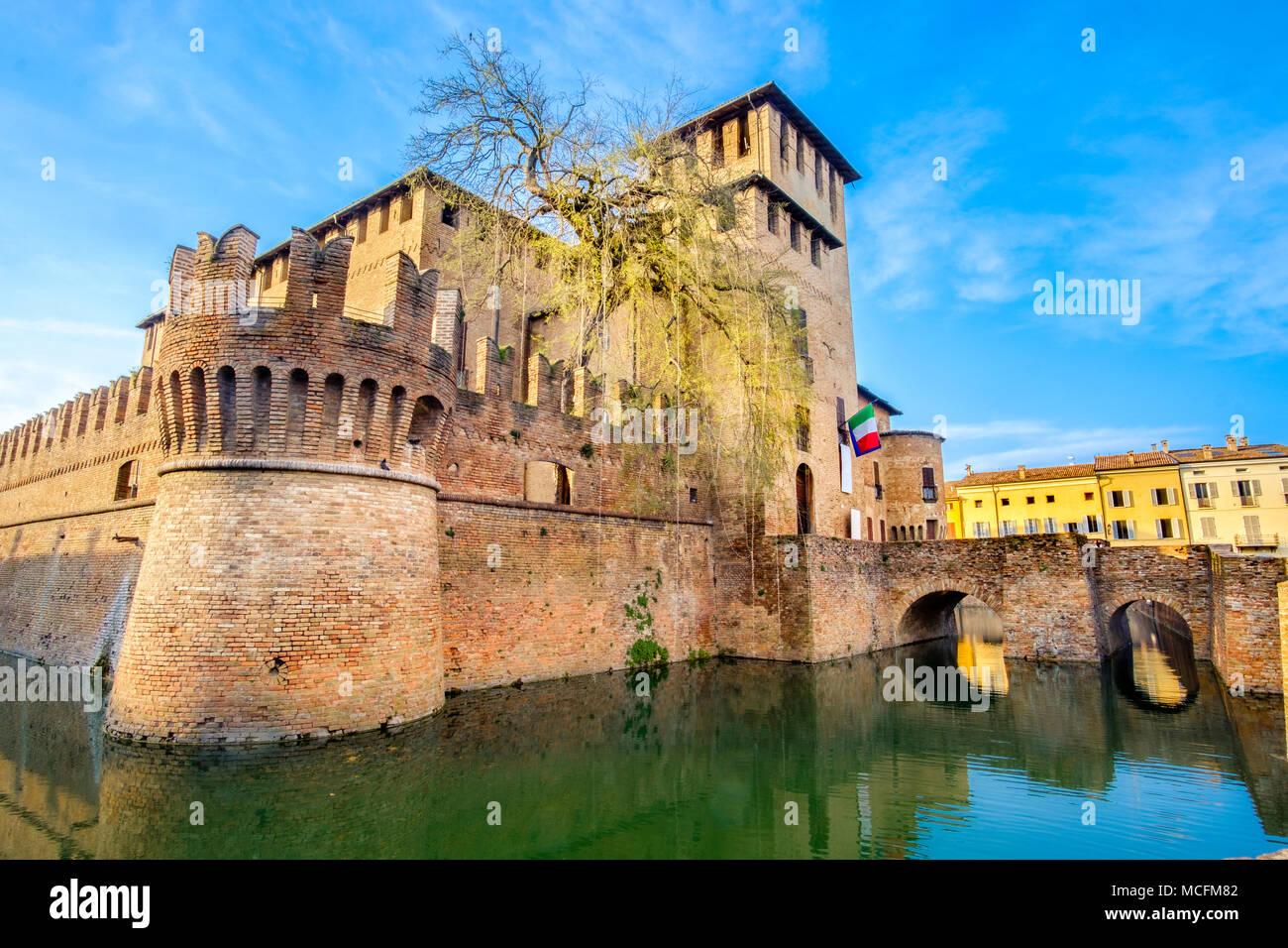 italian castles - Fontanellato - Parma - Emilia Romagna - Italy - Stock Image
