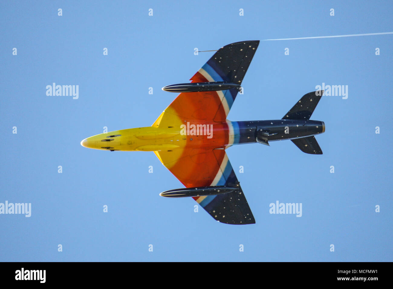 Miss Demeanour heads to Canada Stock Photo