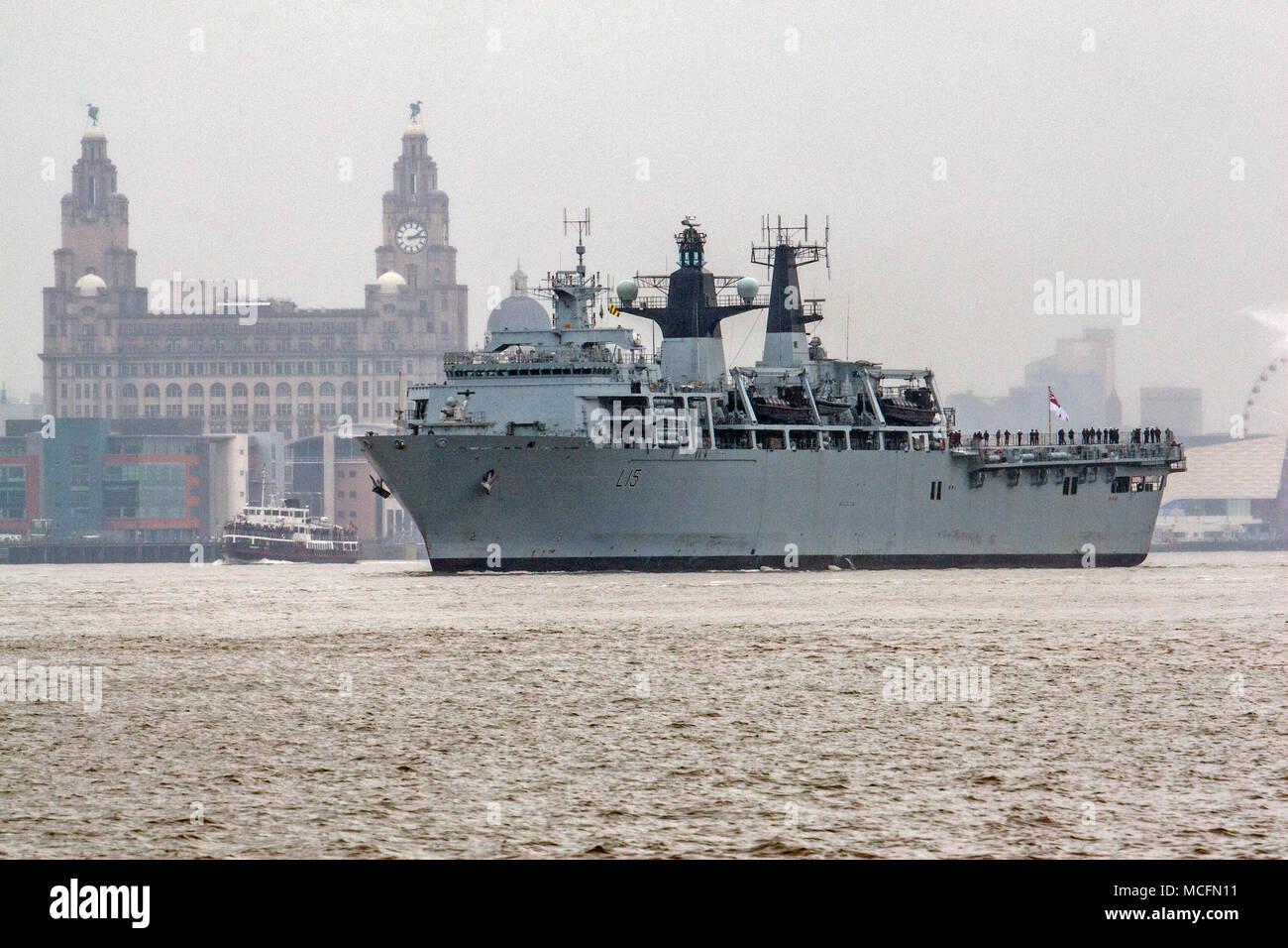 HMS Bulwark L15 - Stock Image