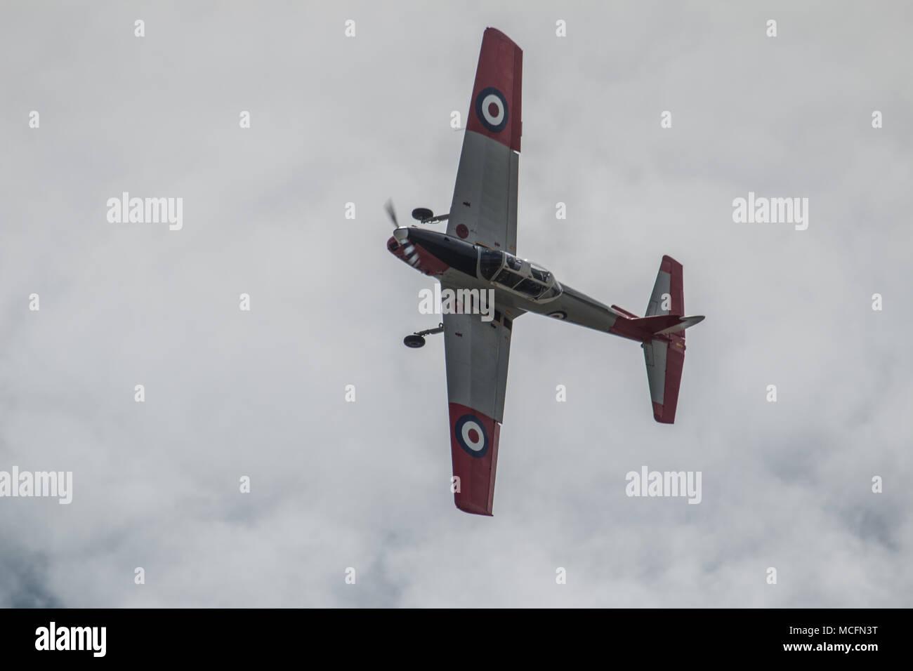RNHF DHC-1 Chipmunk T MK 10 - Stock Image