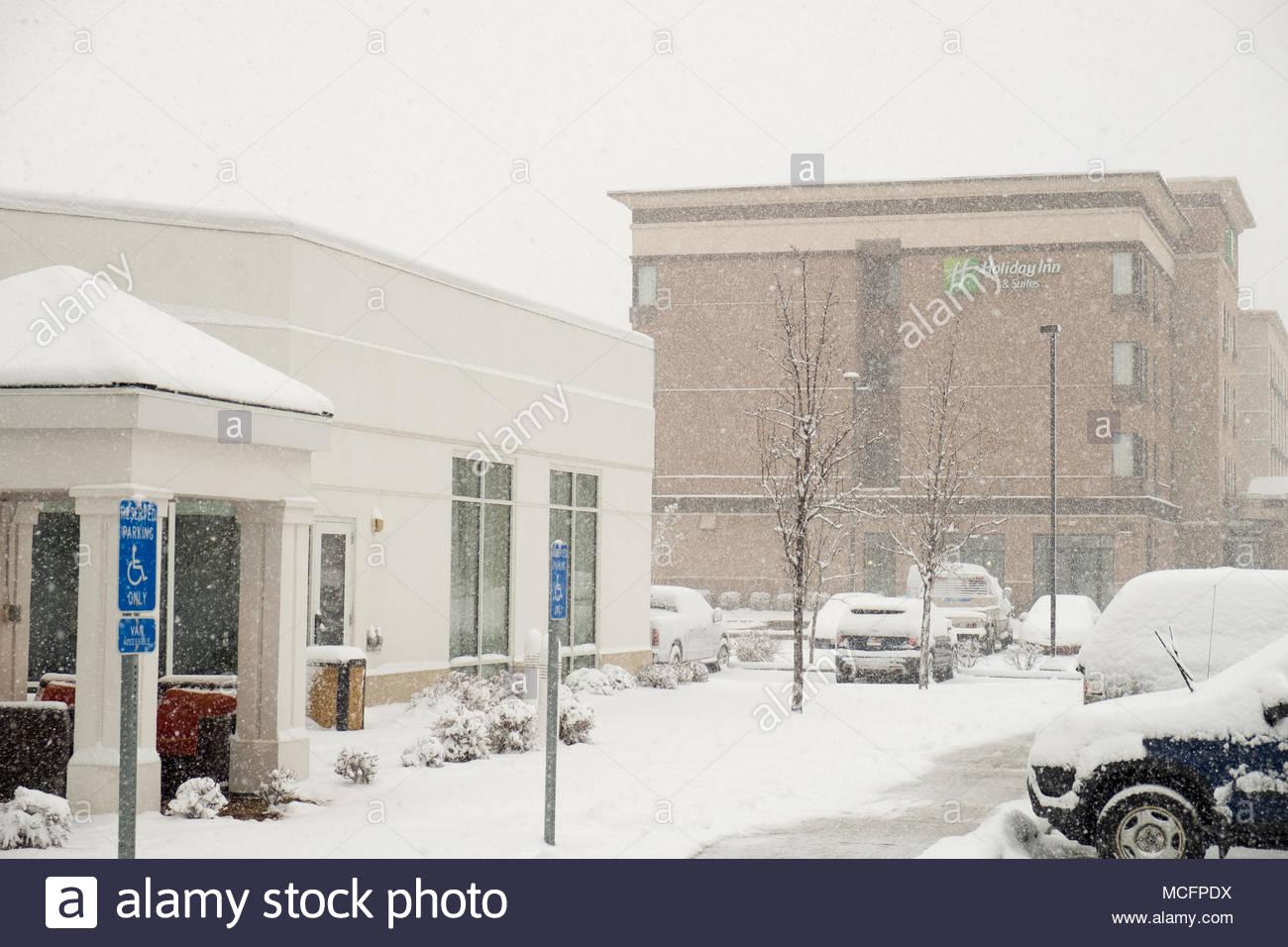 Salt Lake City Utah Snow Stock Photos Salt Lake City Utah Snow