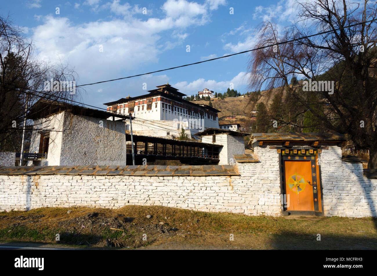 Rinpung Dzongkhag, Paro, Bhutan - Stock Image