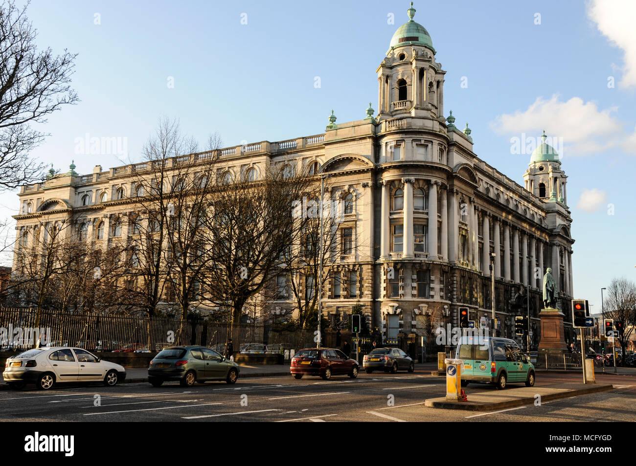 Belfast Institute of Further & Higher Education, Great Victoria St. - Stock Image