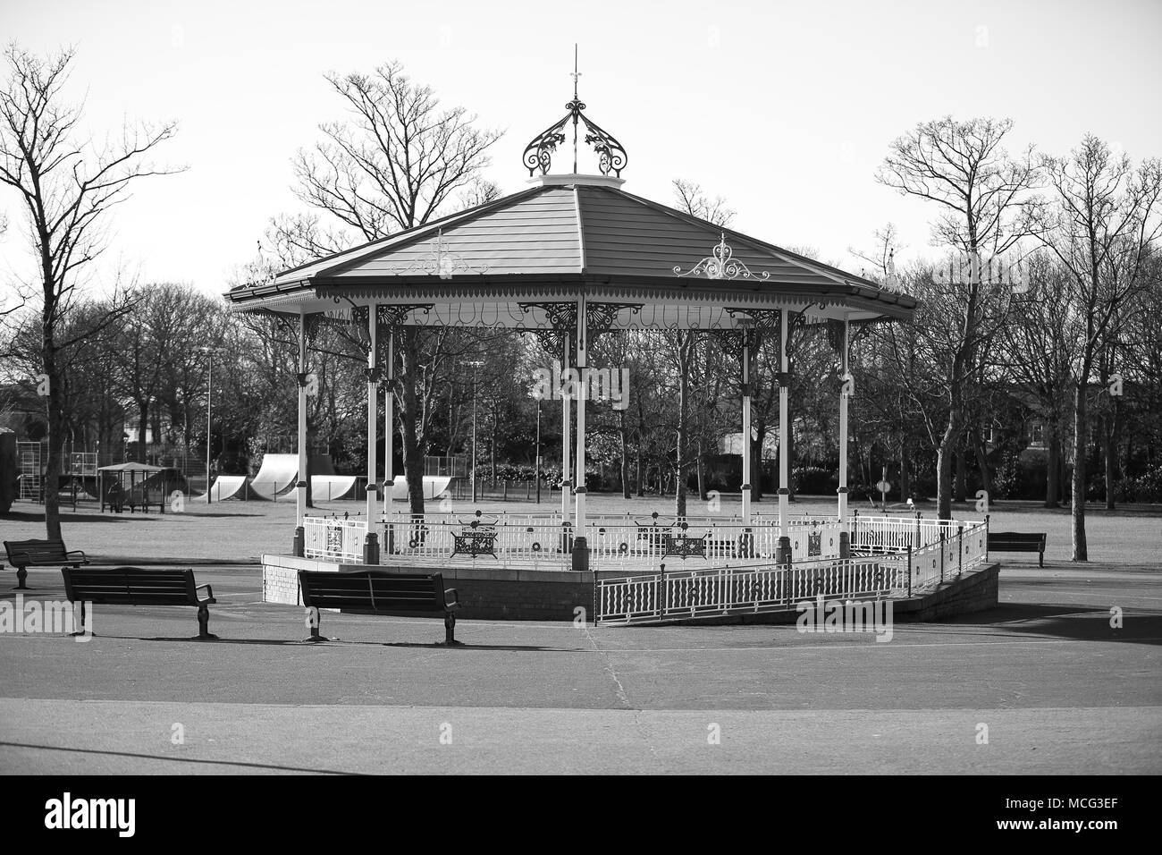 The Bandstand - Stock Image