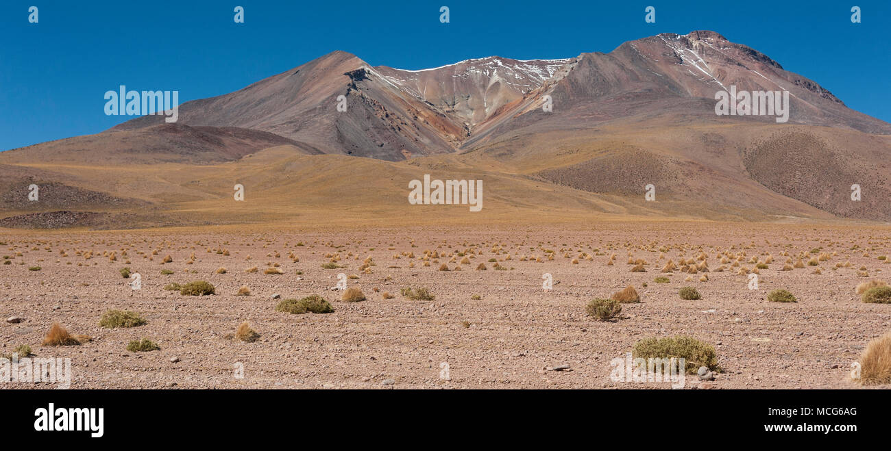 The beautiful landscape of Bolivia, South America - Stock Image