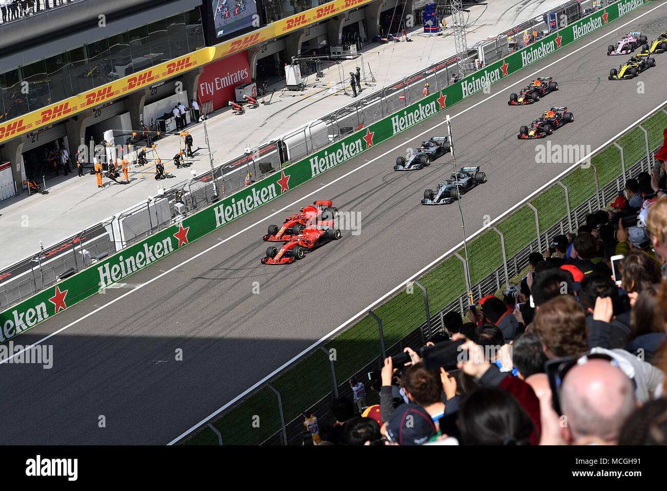 15 04 2018 Shanghai Audi International Circuit Shanghai 2018