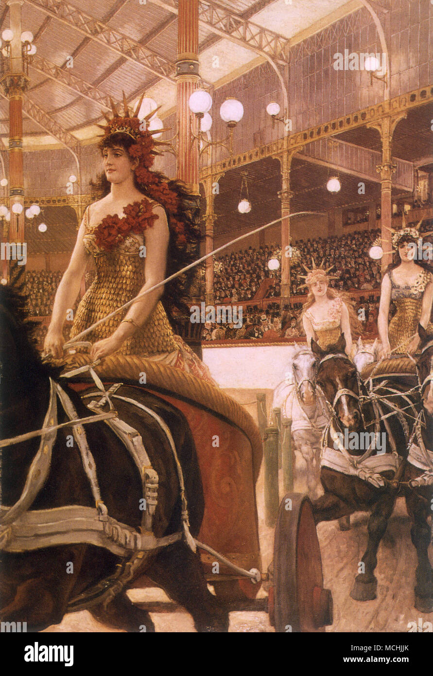 Ladies of the Cars, The (Les Dames des Chars) Stock Photo