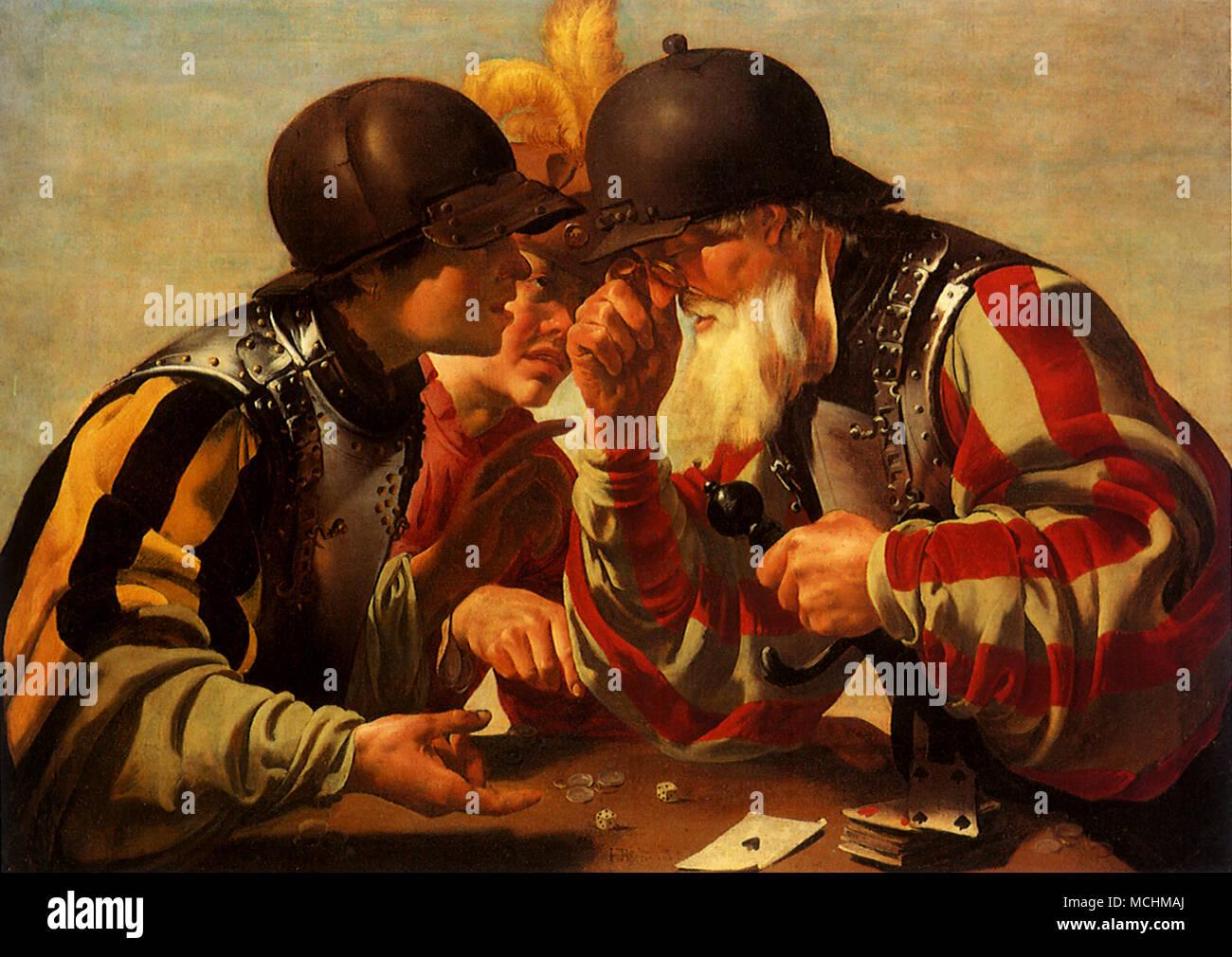 Gamblers - Stock Image