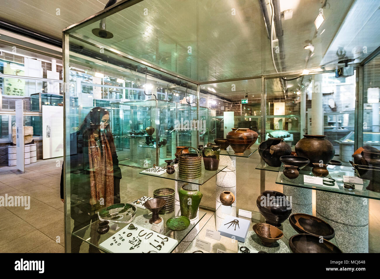 Italy Piedmont Turin Polo Reale museum of antiquity - Stock Image