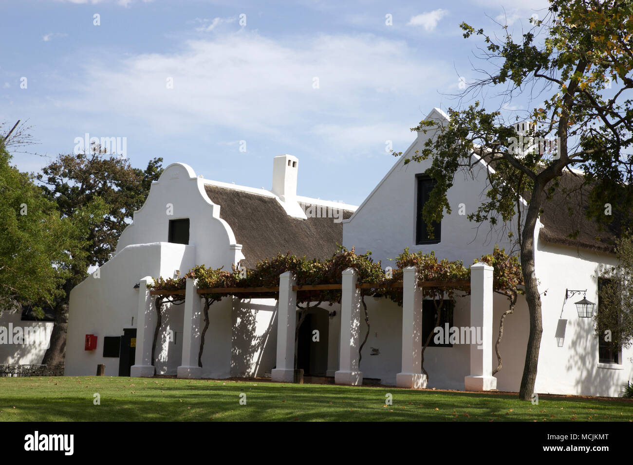 Cape Dutch Architecture Spier Winery And Hotel Western Cape South