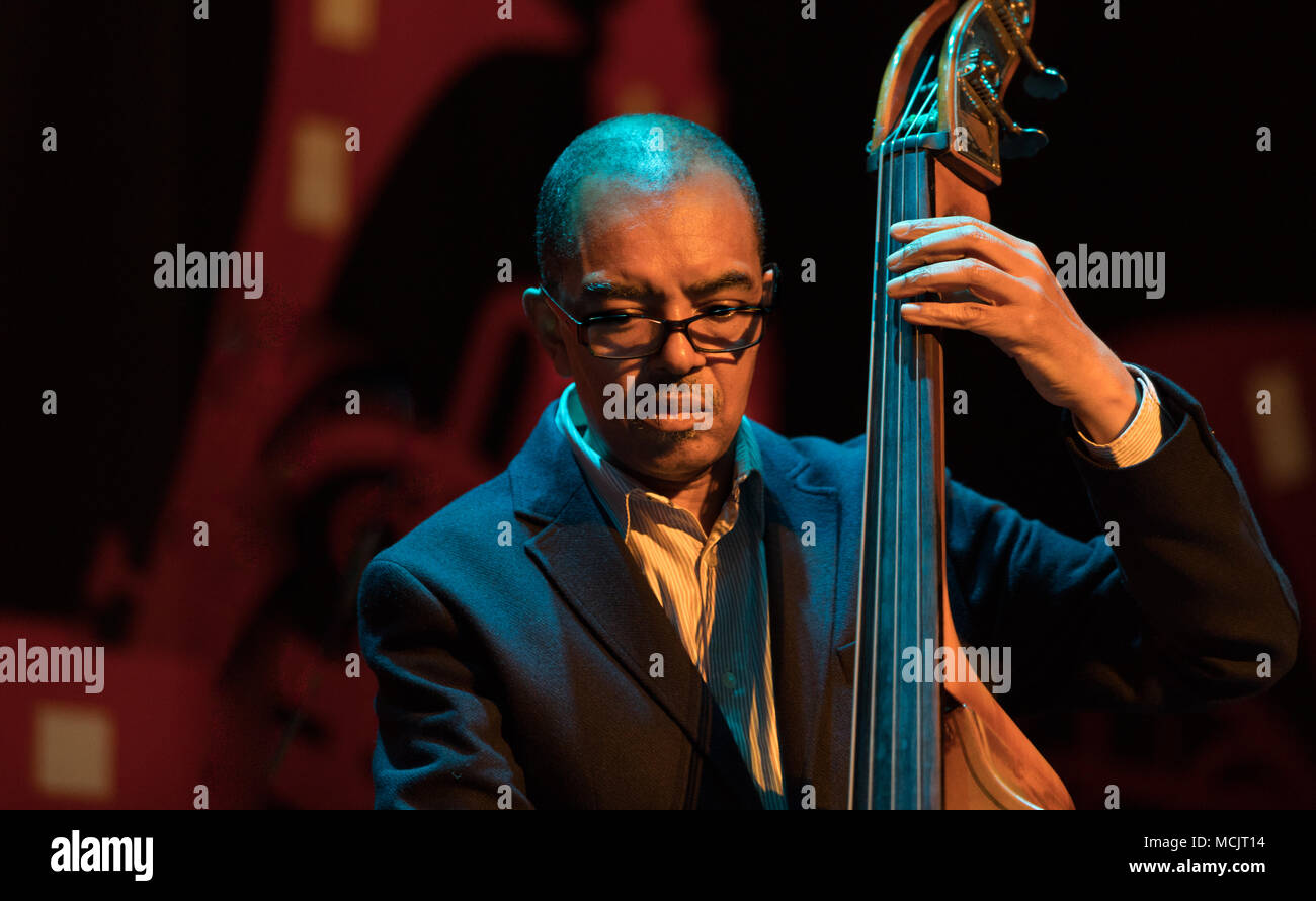 Gary Crosby OBE   from Gary Crosby nu troop playing at the cork jazz festival 2017 - Stock Image
