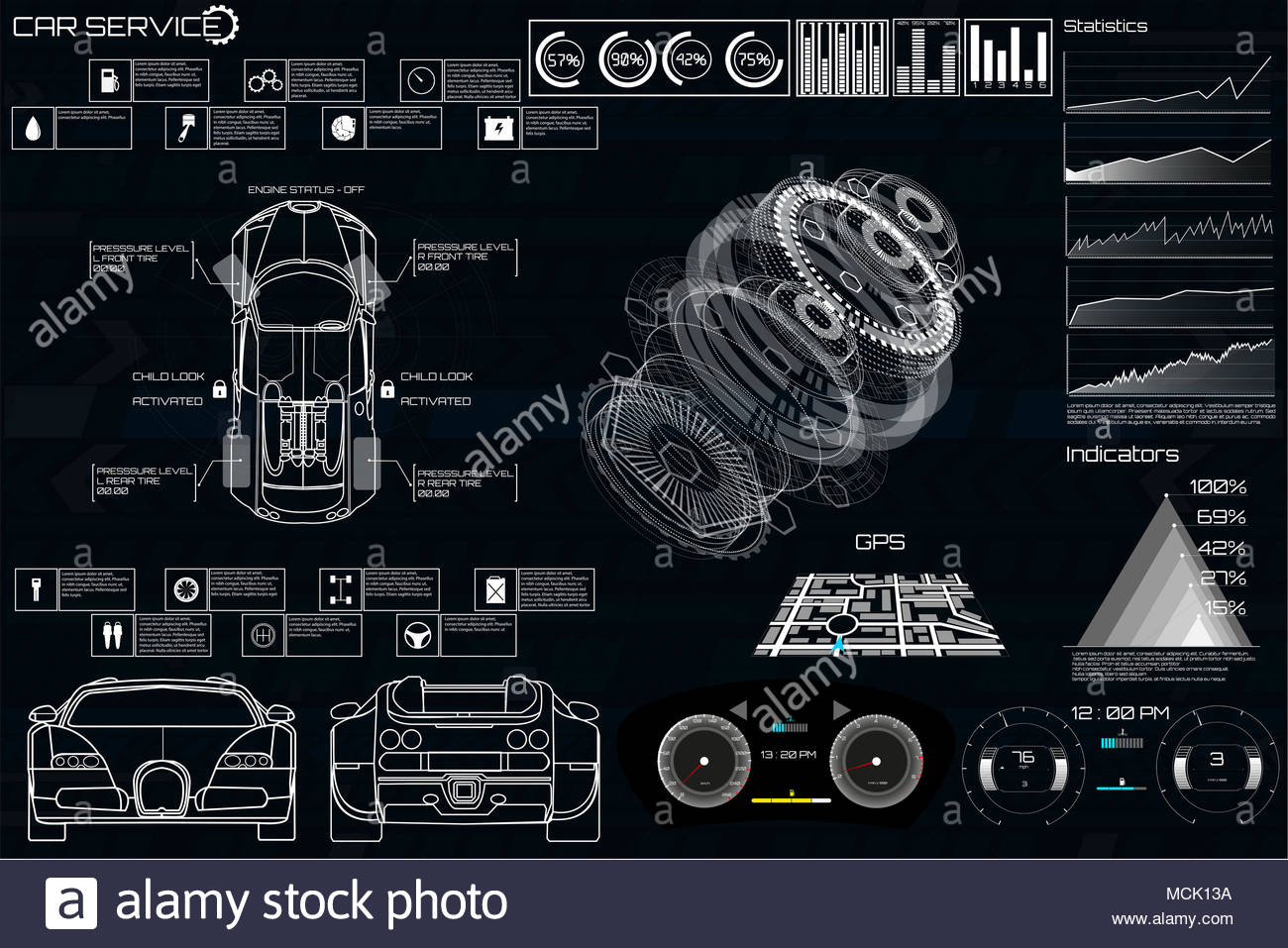 Mechanisms Stock Photos Images Alamy Steampunk Engineering Schematics Car Service In The Style Of Hud Cars Infographic Ui Analysis And Diagnostics