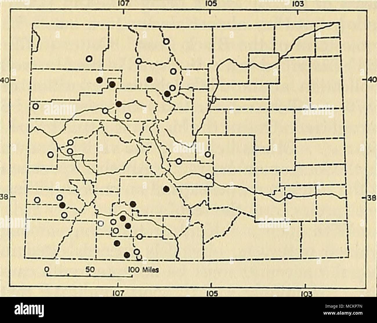 Fig 97 Distribution Of Ursus Arctos In Colorado For Explanation