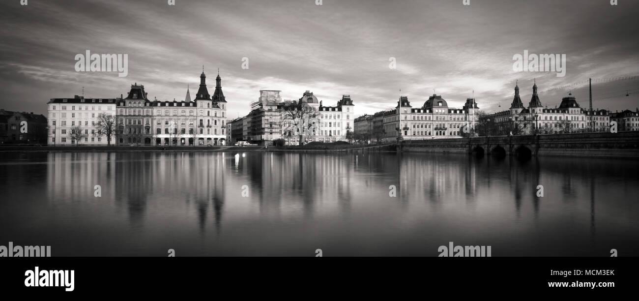 Copenhagen, Denmark - March 18, 2009: Sotorvet buildings. - Stock Image