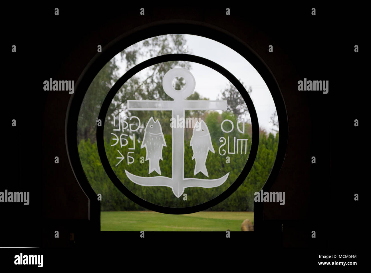 Catholic Church Religious Fish Sign Stock Photos Catholic Church