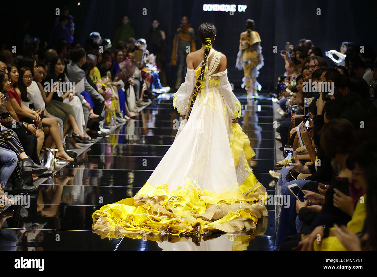Mandaluyong City National Capital Region Philippines 12th Apr 2018 The Manila Fashion Festival Is Also About