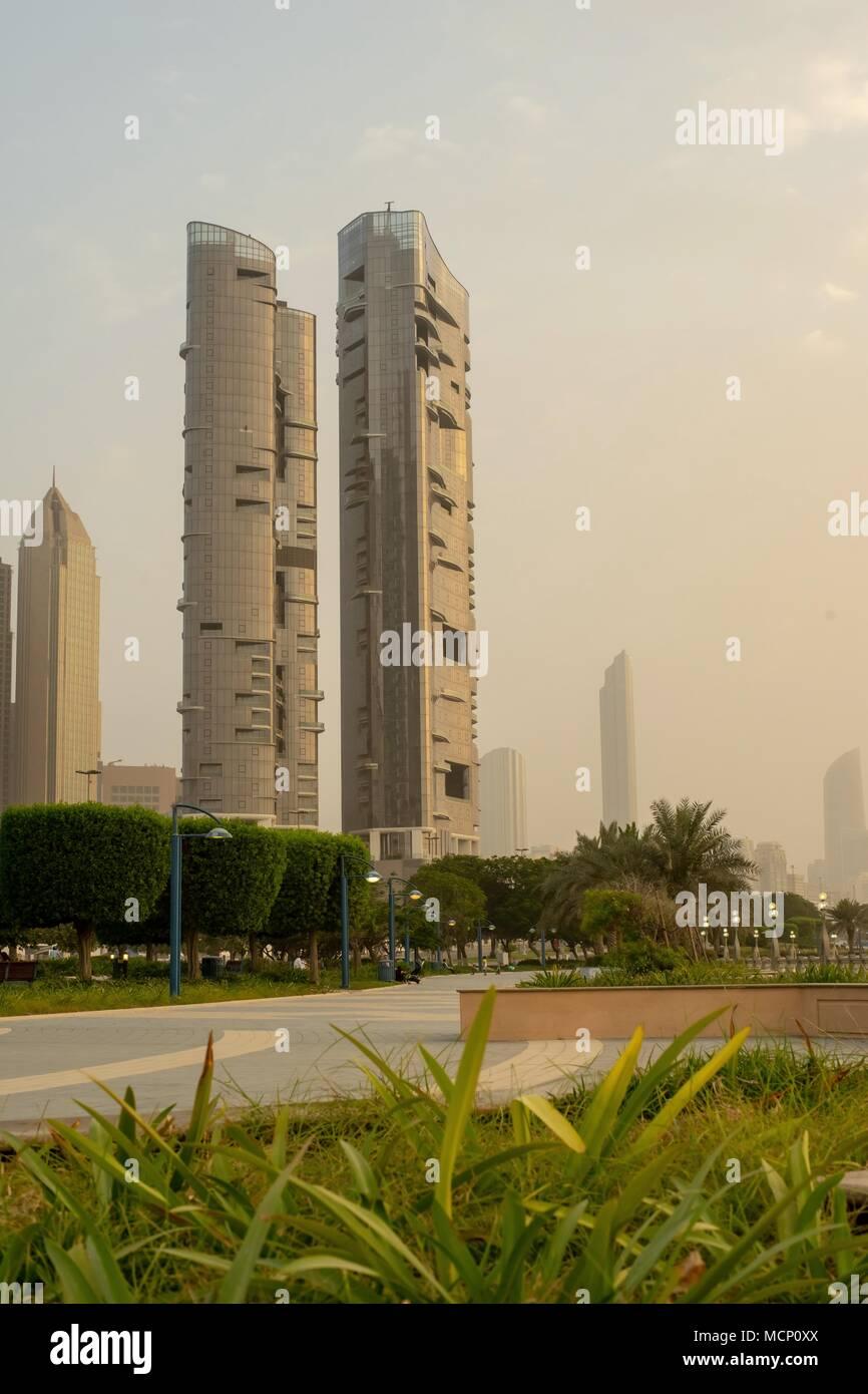 Corniche Khalifa Street, Abu Dhabi, UAE - 17th April, 2018