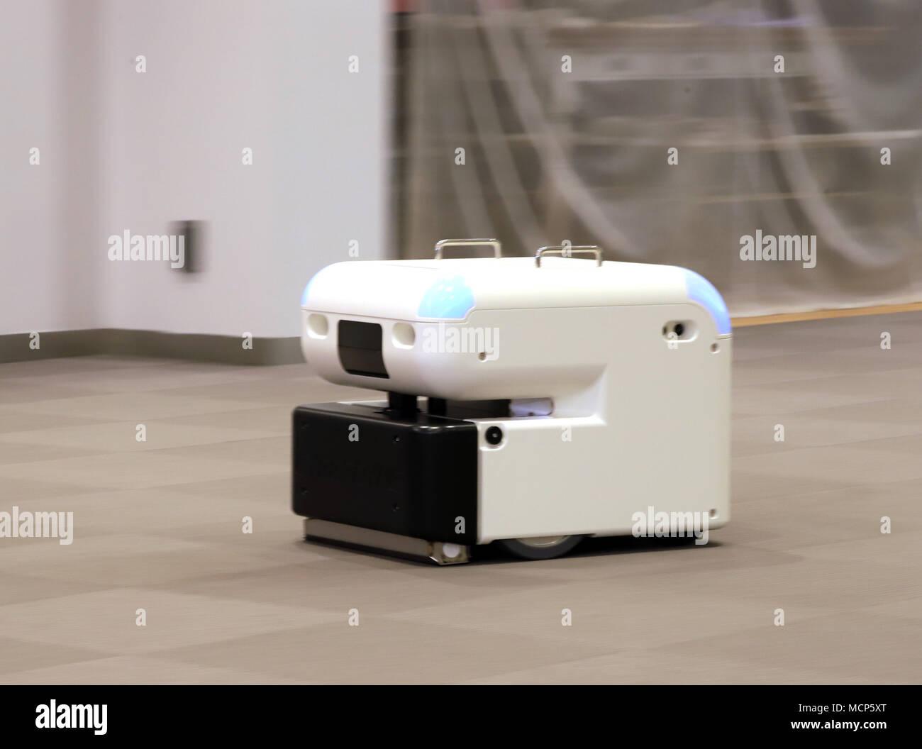 Tokyo, Japan  17th Apr, 2018  Japan's robot venture