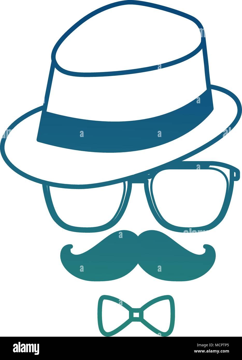 Top Hat, Glasses, Moustache, Bow Tie, Gloves, Smoking Pipe Men/'s Steampunk Set