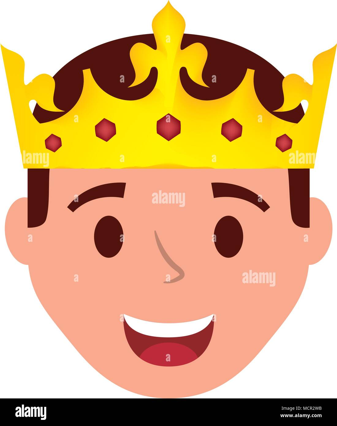 Young Man Head With Crown Avatar Character Stock Vector Image Art Alamy Search, discover and share your favorite crown cartoon gifs. https www alamy com young man head with crown avatar character image179986727 html