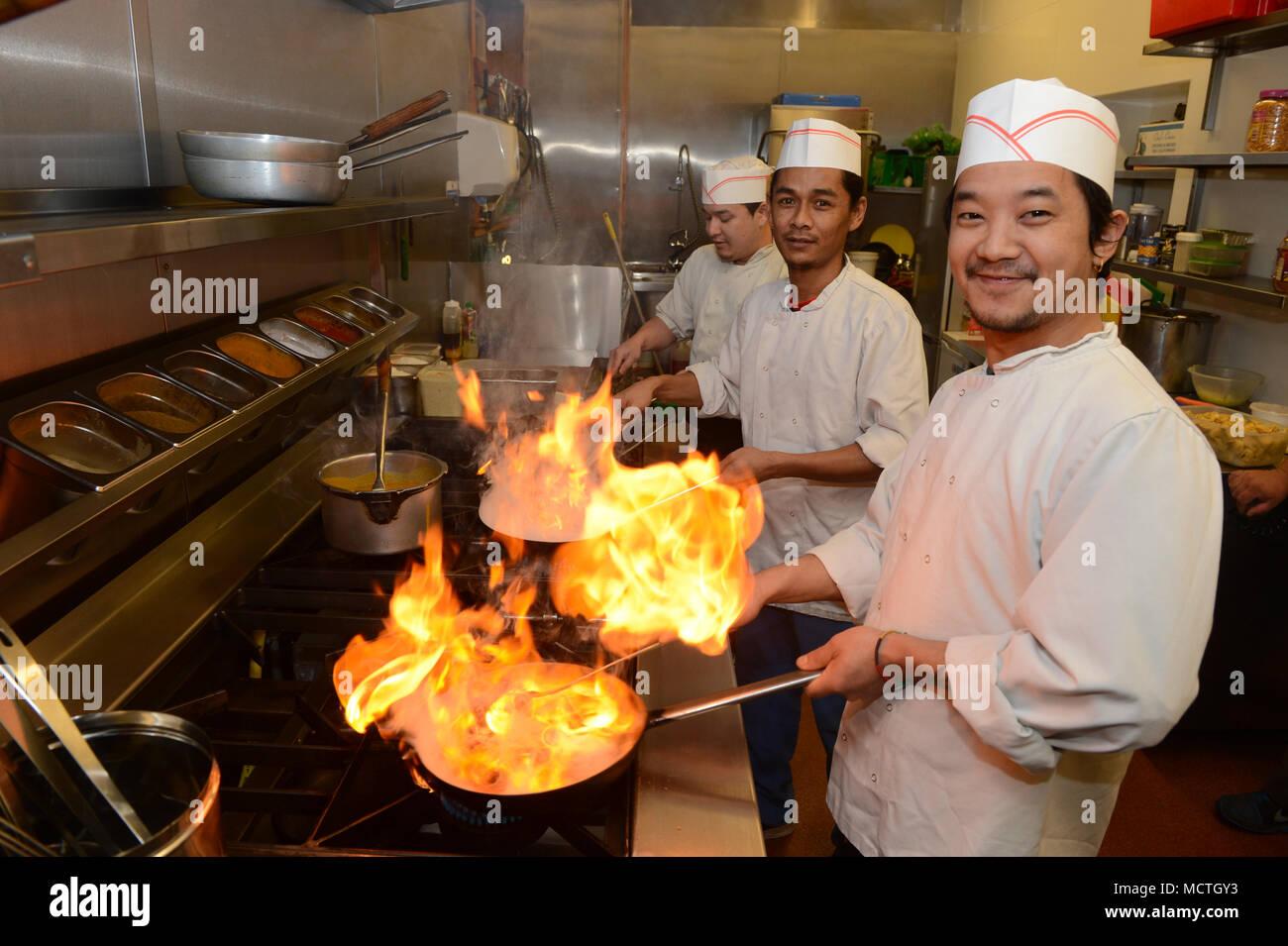 Chinese Takeaway Restaurant Stock Photos & Chinese Takeaway ...