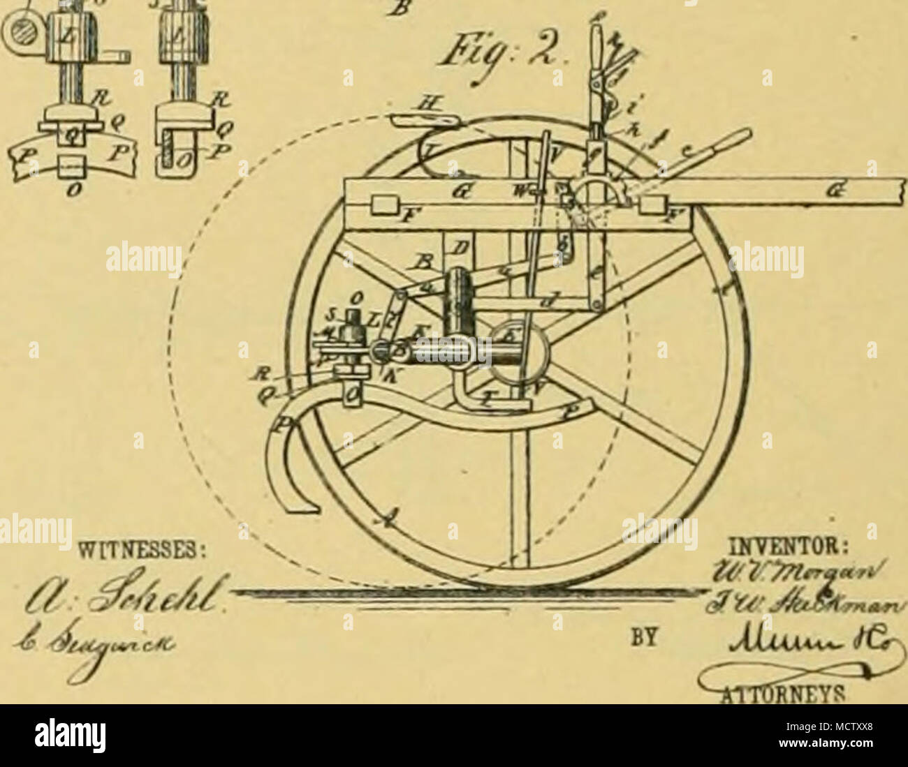. No. 232,268. T. T. HARBISON Sulky Plow. Patented Sept. 14, 1880. T. T. HAREISON. Snlkj Plow. No. 232,268. Patented Sept. 14, 1880. - Stock Image