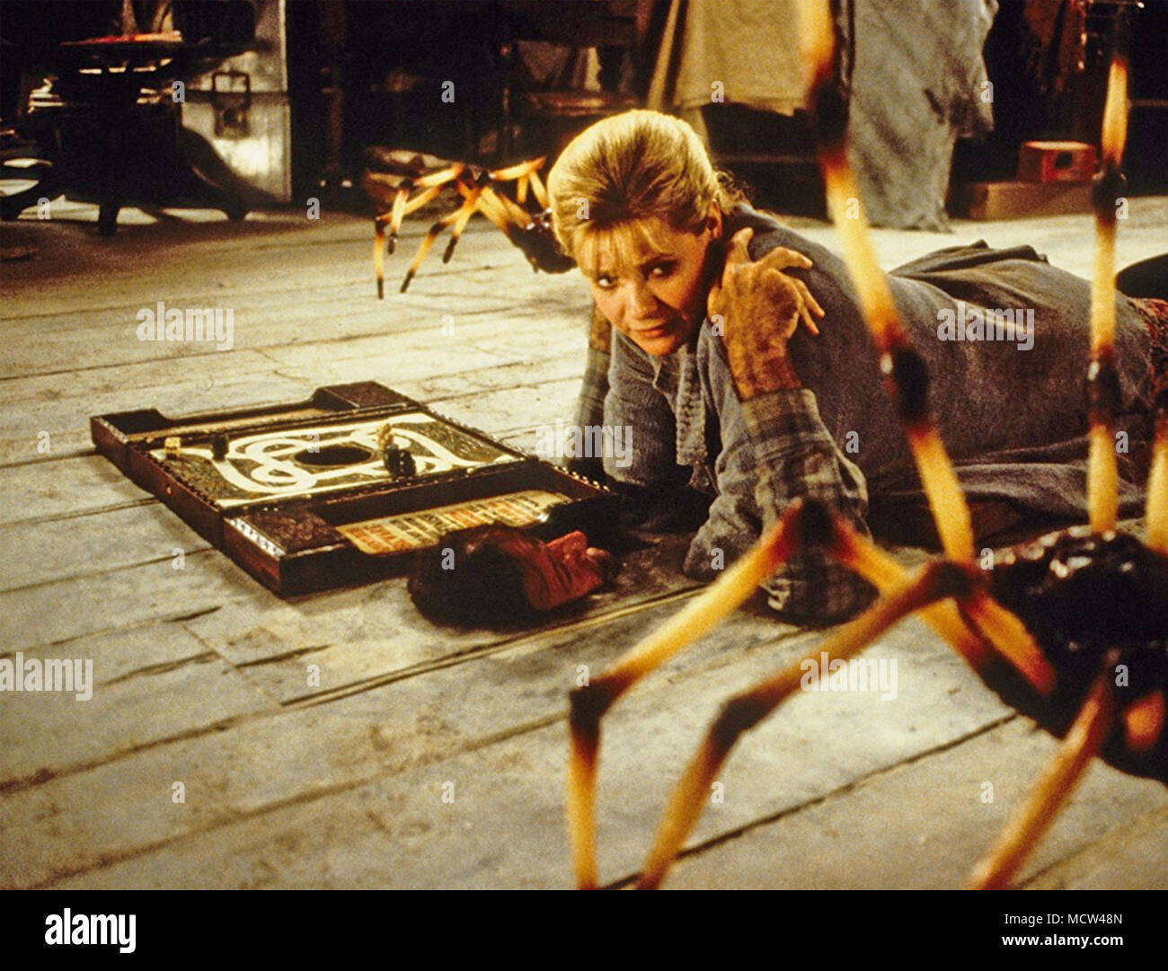 JUMANJI 1995 TriStar Pictures film with Bonnie Hunt - Stock Image