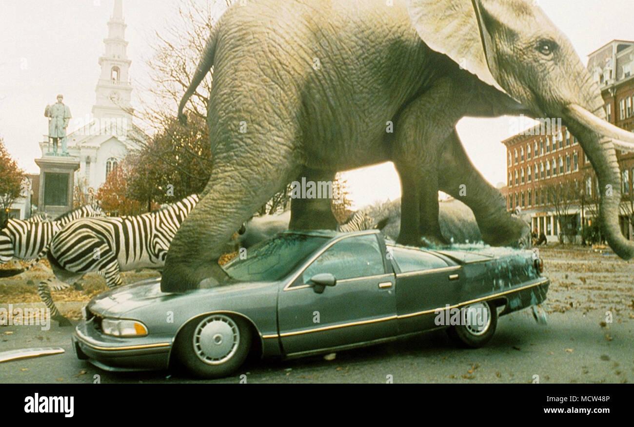 JUMANJI 1995 TriStar Pictures film - Stock Image