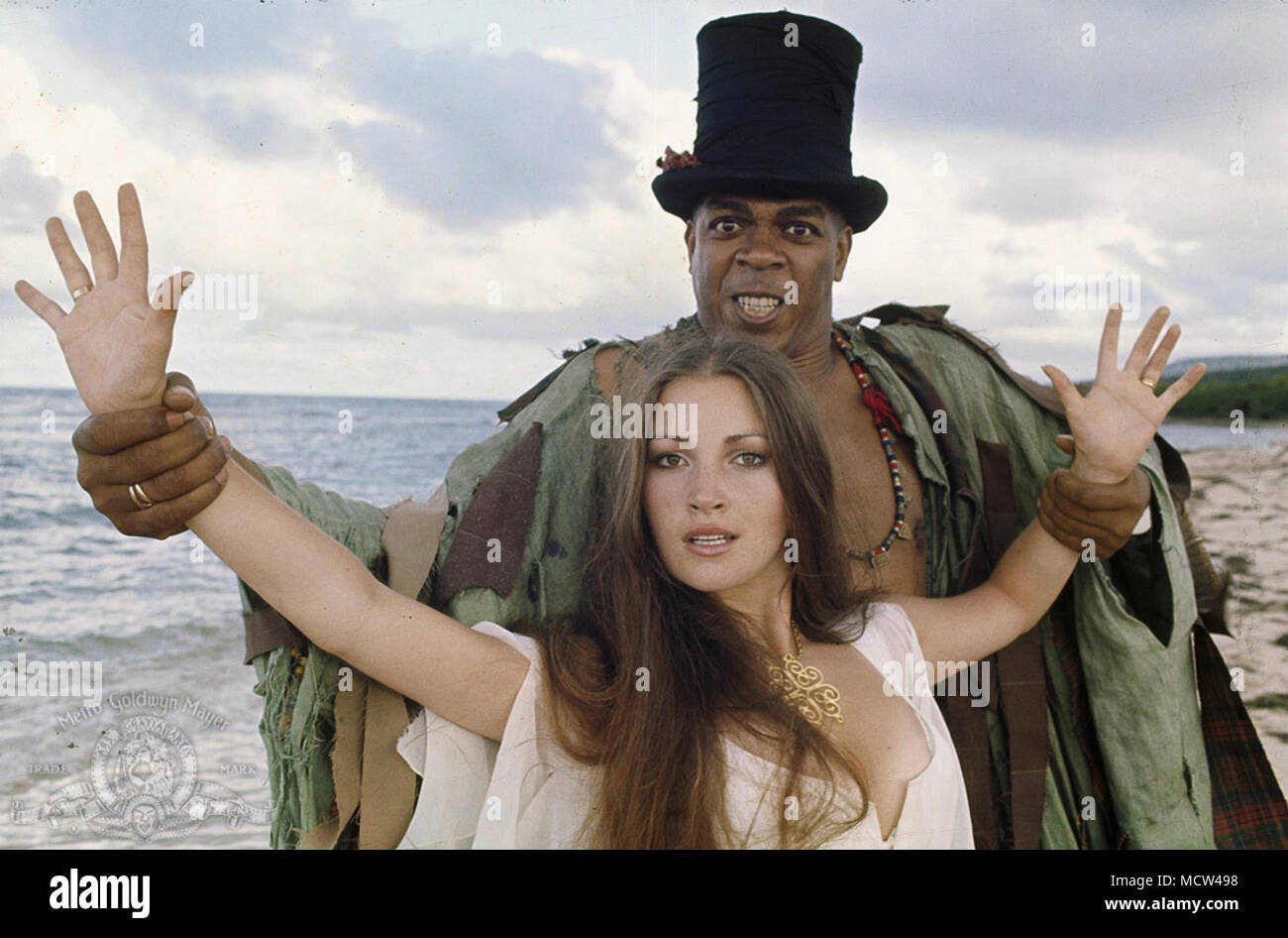 LIVE AND LET DIE 1973 Eon Productions film with Jane Seymour and  Geoffrey Holder - Stock Image