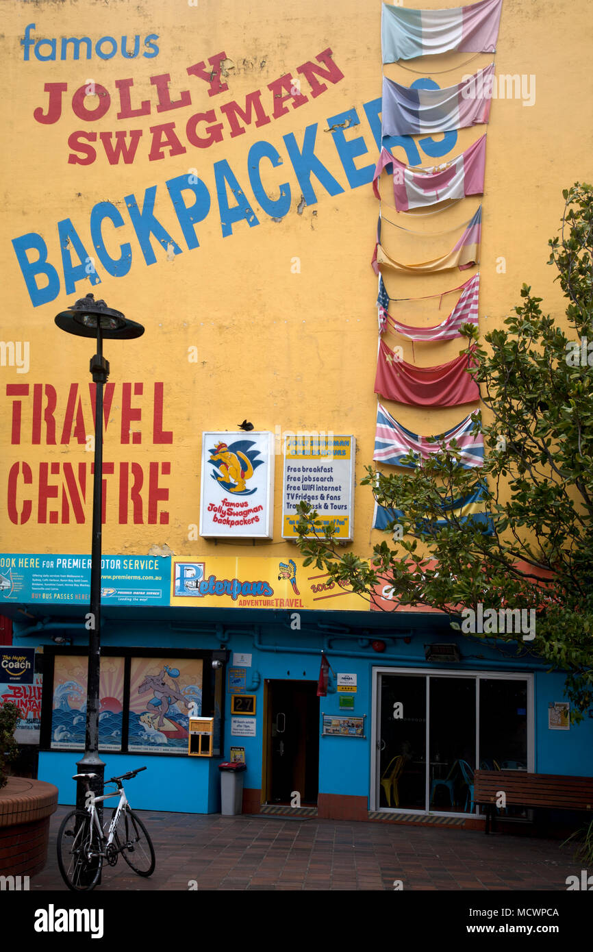 jolly swagman backpackers hostel potts point kings cross sydney new south wales australia Stock Photo
