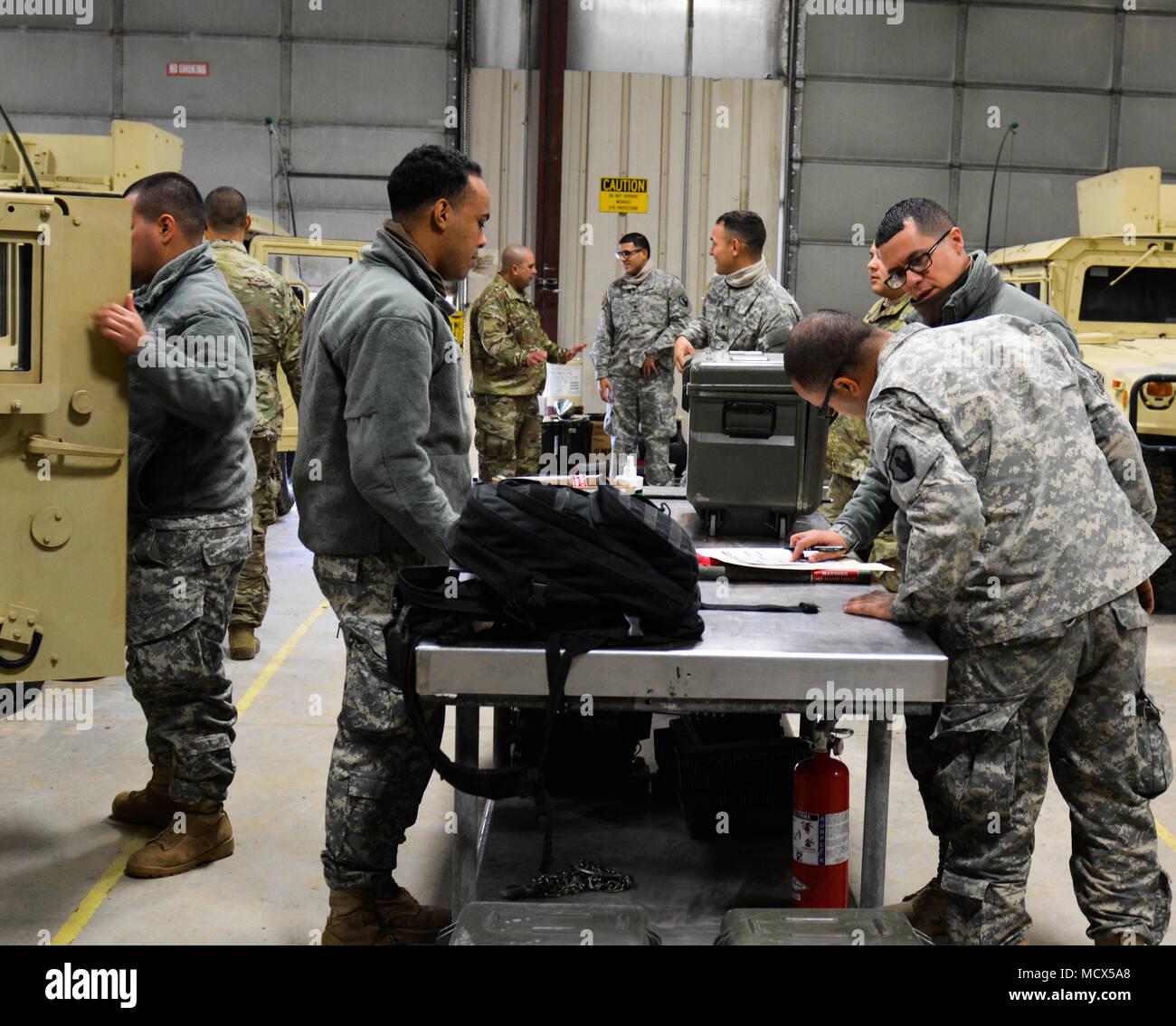 U S  Army Reserve Troop List Unit Soldiers dispatch Humvees