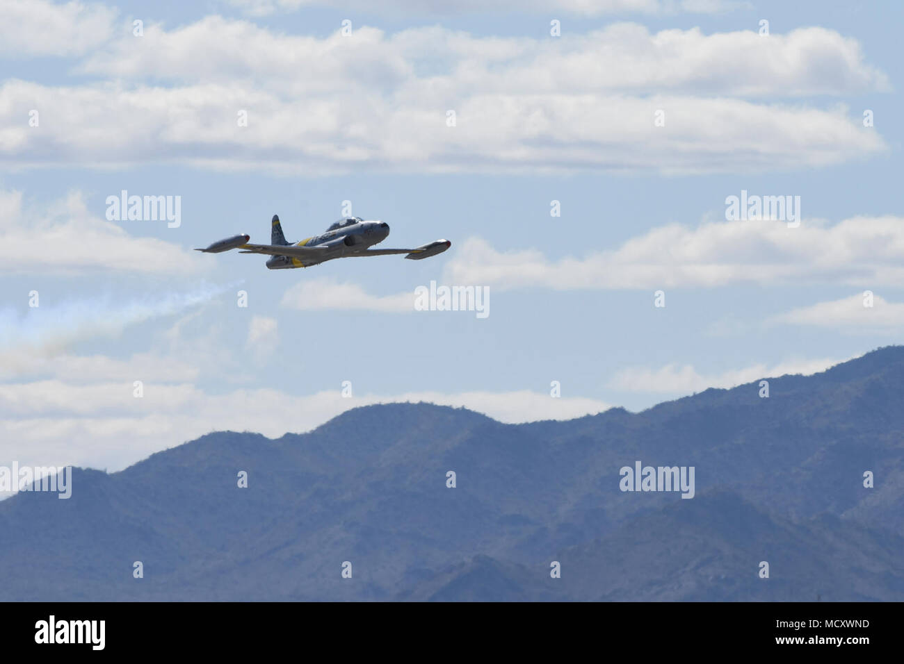 """Greg Coyler maneuvers his T-33 aircraft, """"The Ace Maker"""" during an ..."""