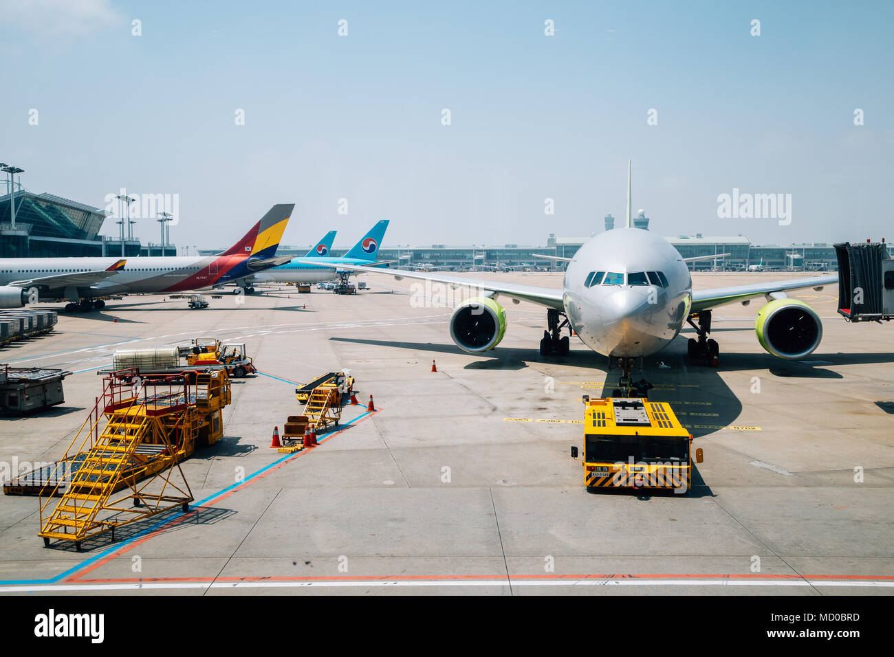 Incheon, Korea - June 8, 2017 : Incheon International Airport - Stock Image