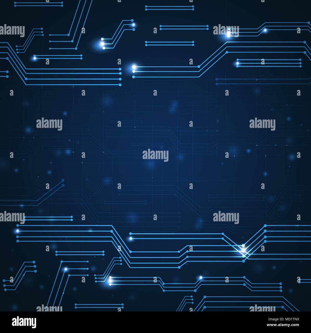 digital concept graphic scheme connections technology background - Stock Image