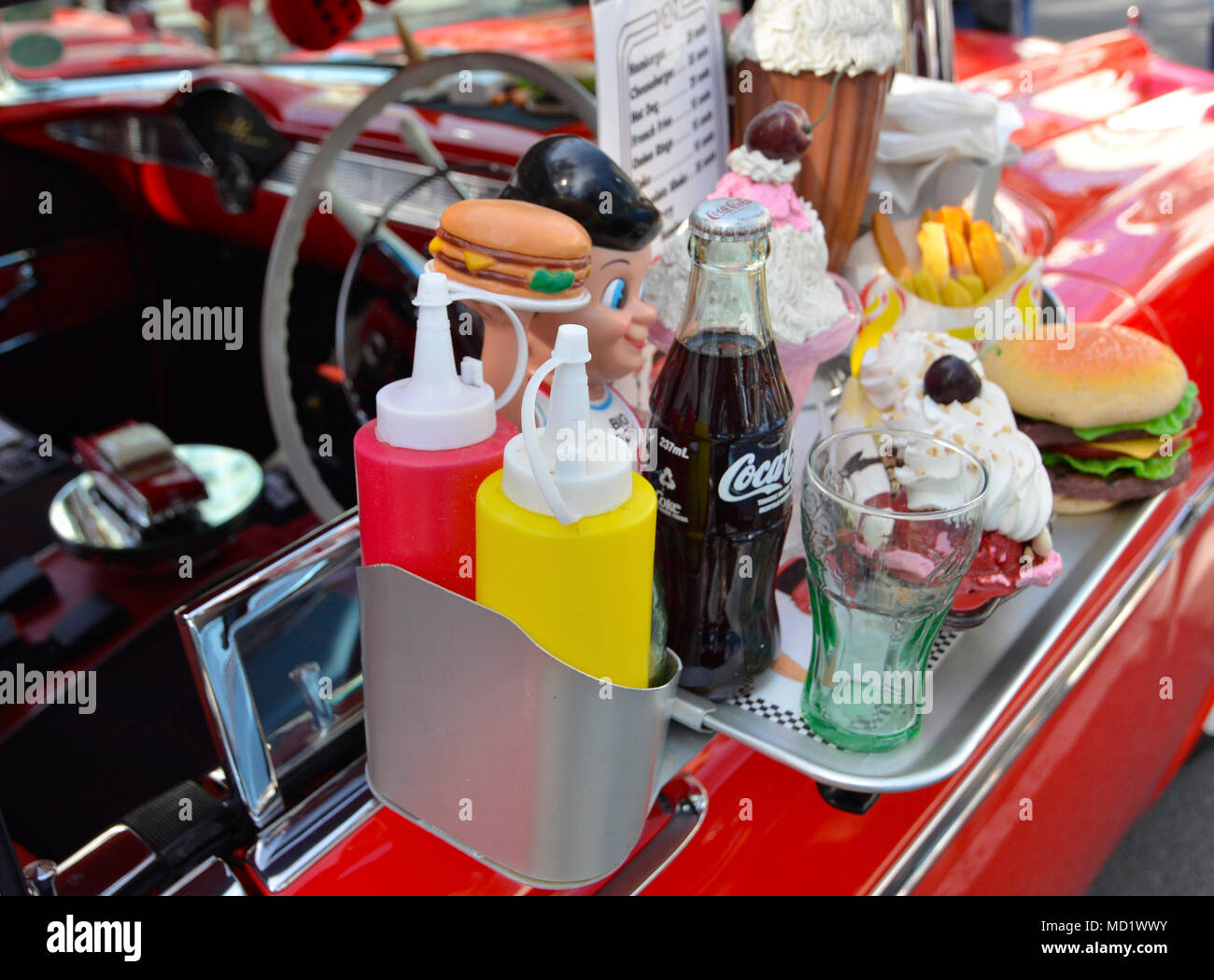 Coke Tray Stock Photos & Coke Tray Stock Images - Alamy
