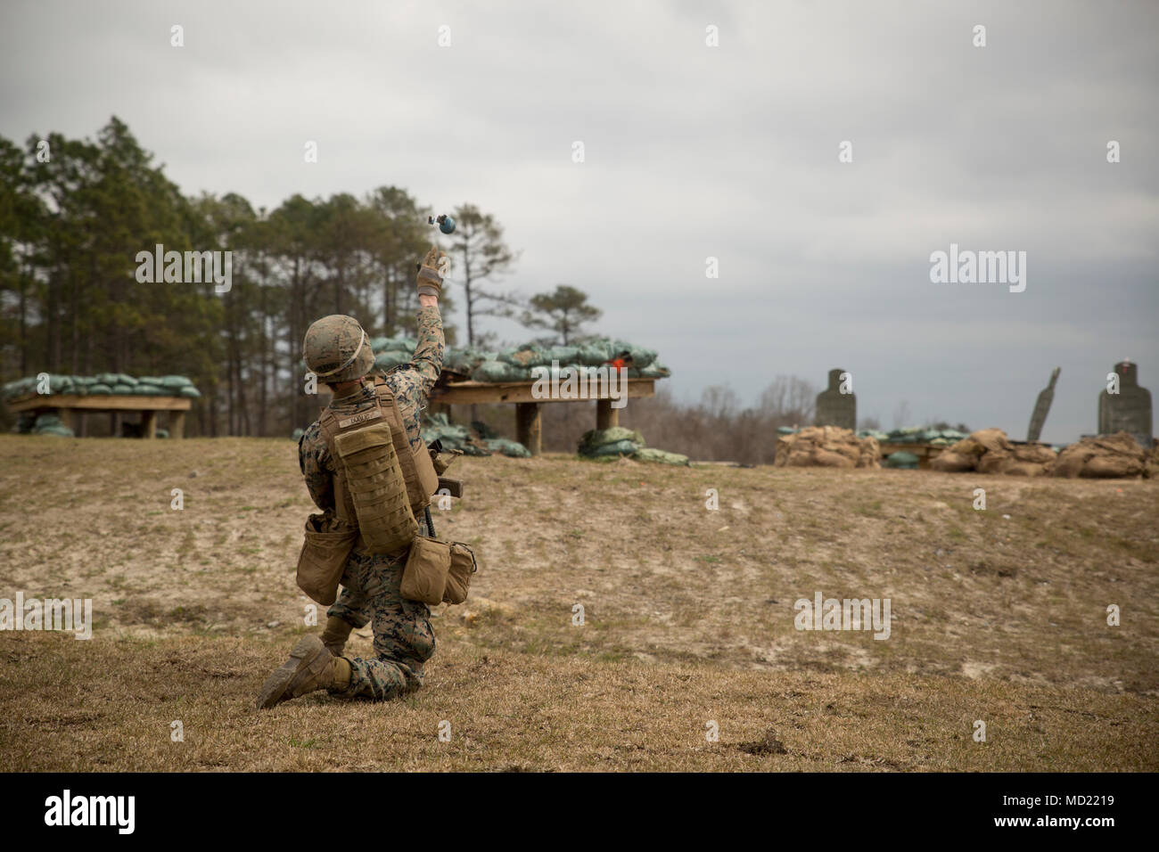 M69 frag grenade