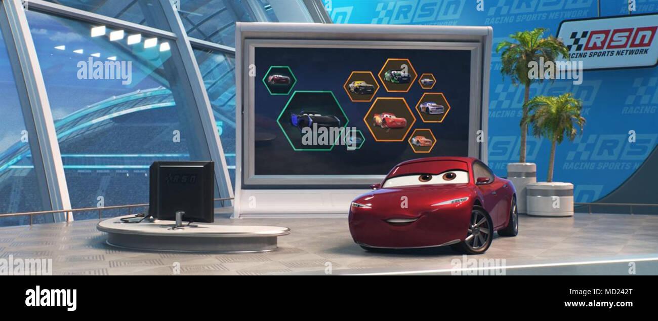 Cars 3 2017 Brian Fee Dir Disney Moviestore Collection Ltd Stock