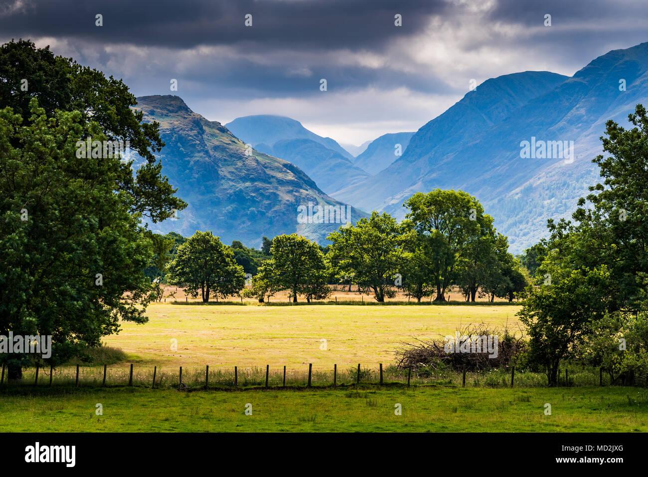 Near Gillerthwaite 2, The Lake District, UK. - Stock Image