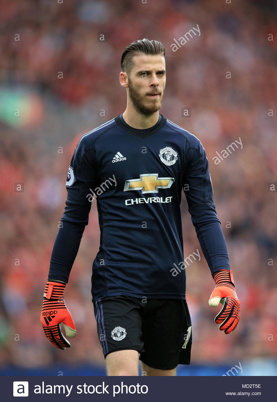 buy online 2ca4c a27e5 File photo dated 14-10-2017 of Manchester United goalkeeper ...