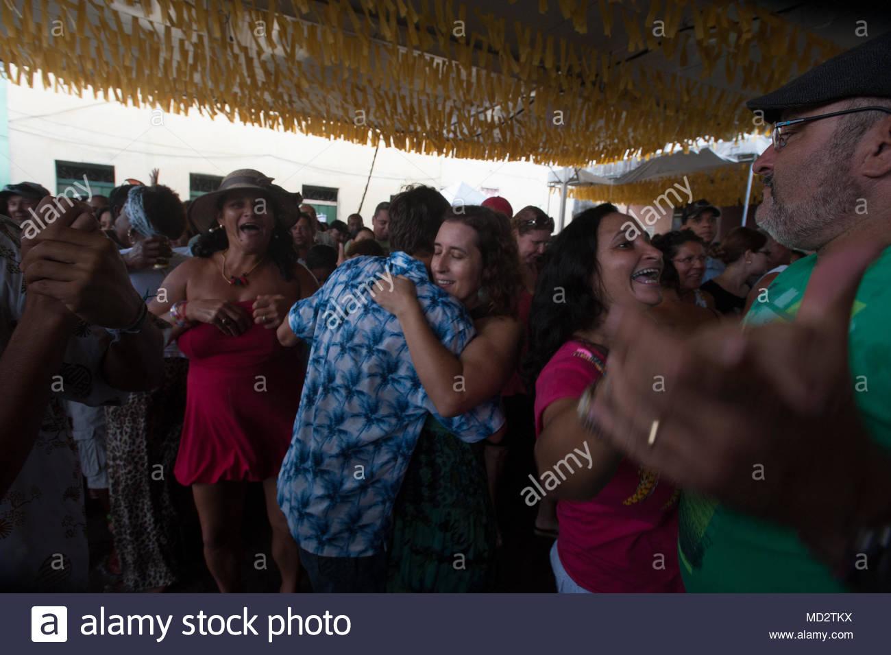 forró, the most famous Brazilian couple dance, salvador de